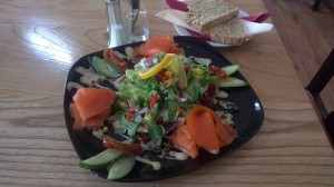 Organic Smoked Irish Salmon Salad