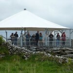 Caherconnell Sheepdog Demonstrations viewing area